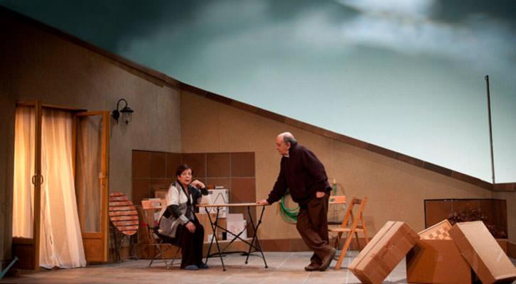 Escena de 'Jordi i Lola'. Imagen cortesía de Teatre Micalet.