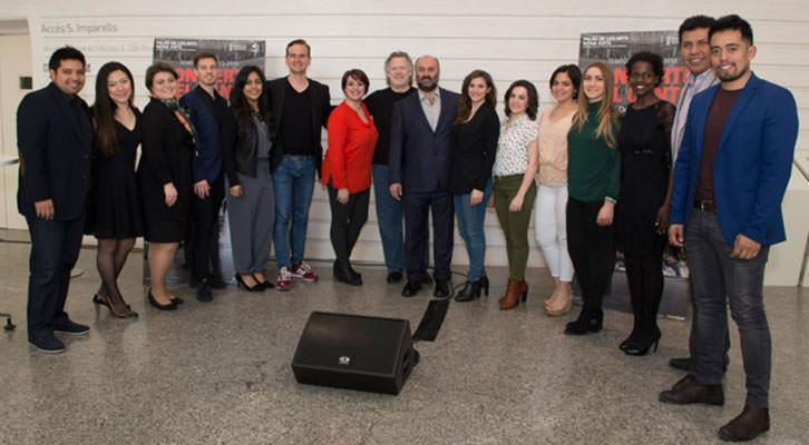 Elenco al completo del Concierto Bel Canto dirigido por Gregory Kunde. Fotografía de Tato Baeza por cortesía de Les Arts.