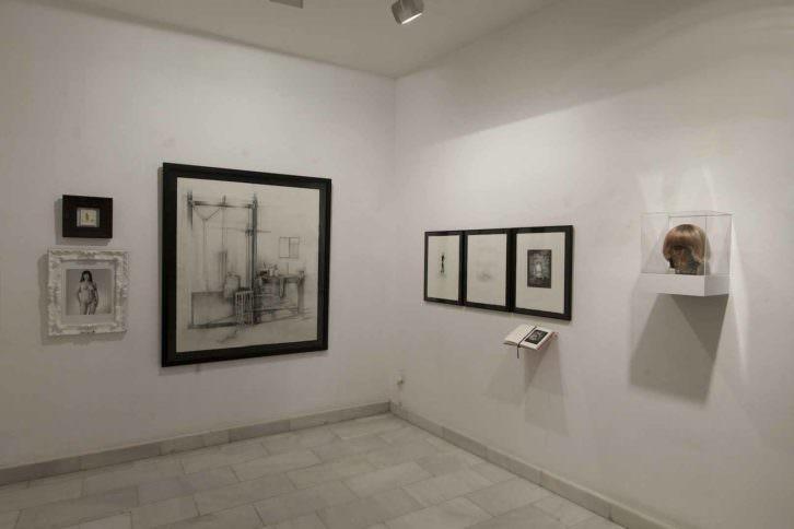 Segunda sala. Imagen cortesía de la Galería Punto.