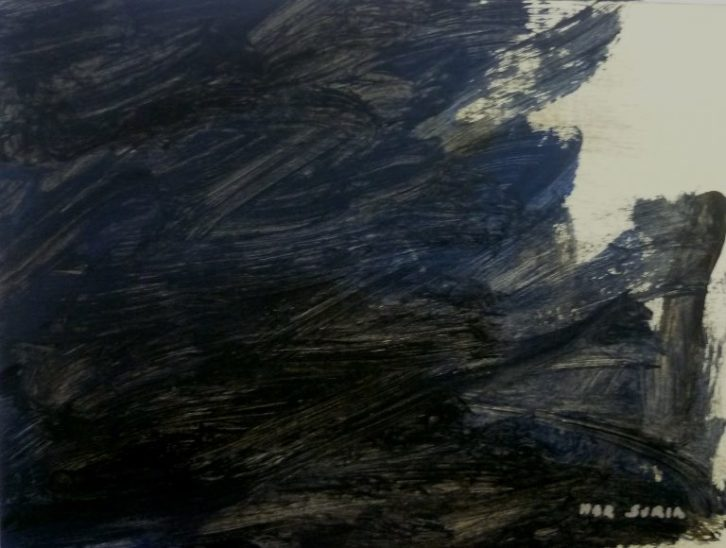 Una de las obras expuestas. Mar Suria. Imagen cortesía de Susi Lizondo.