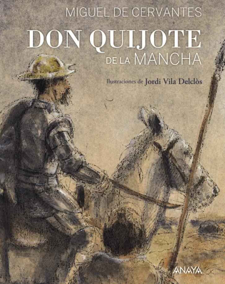 Portada de Don Quijote, de Vicente Muñoz Puelles.