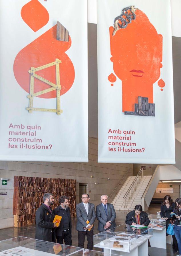 Presentación de la exposición de Ibán Ramón. Imagen cortesía del IVAM.