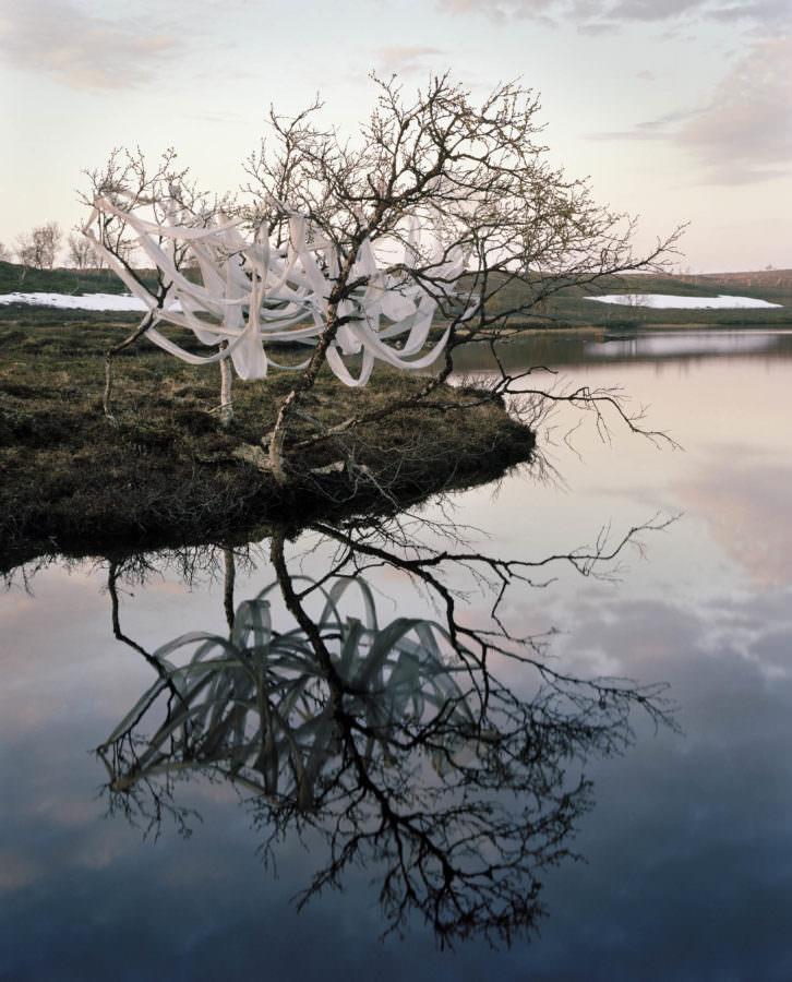 Imagen de la obra 'Dusk', de Riitta Päiväläinen, presente en la exposición. Fotografía cortesía de la galería.