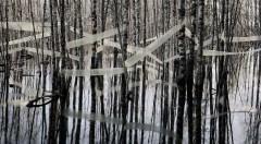 Detalle de la obra 'Serene', de Riitta Päiväläinen, presente en la exposición. Fotografía cortesía de la galería.