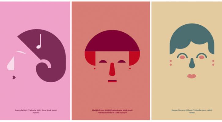 Algunos de los ilustradores valencianos ilustrados.