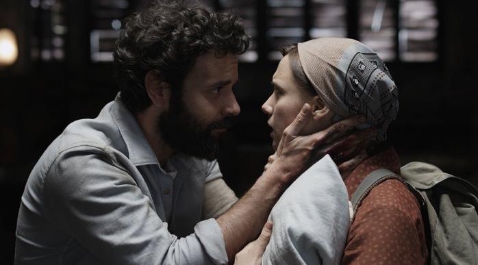 Miquel Fernández y Aura Garrido en 'Vulcania', de José Skaf.