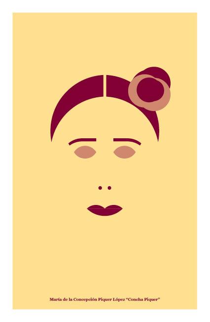 Ilustración de Concha Piquer. Il.lustradors valenciana il.lustrats. Llibres de la Drasana. Pepita Lumier.