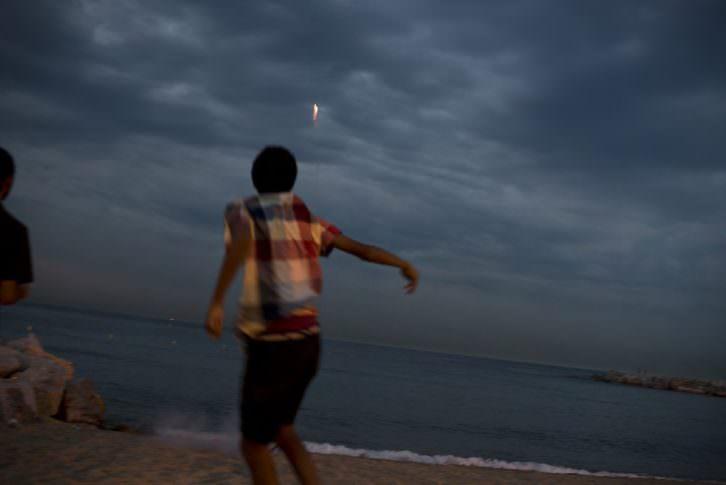 Playa San Juan. Fotografía de José Manuel Navia por cortesía del Instituto Cervantes de Madrid.