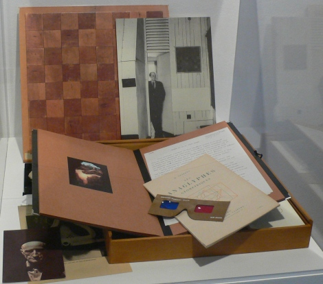 Chess Case(Ronny Van de velde) by Marcel Duchamp. Imagen Sansón Carrasco.