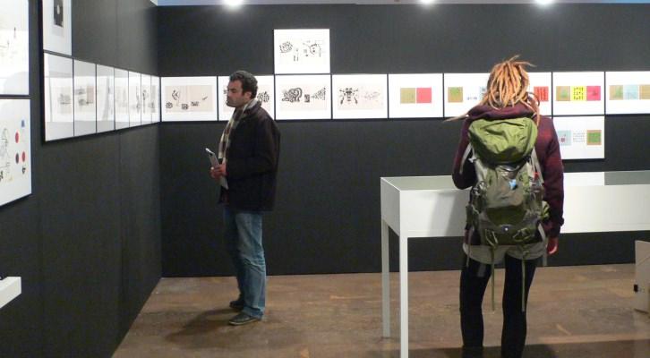 Salt de pàgina. El libro de artista en la colección UPV. Sala del Rectorado. Imagen Sansón Carrasco.