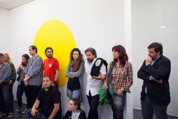 Algunos de los asistentes. Fotografía Nacho López.