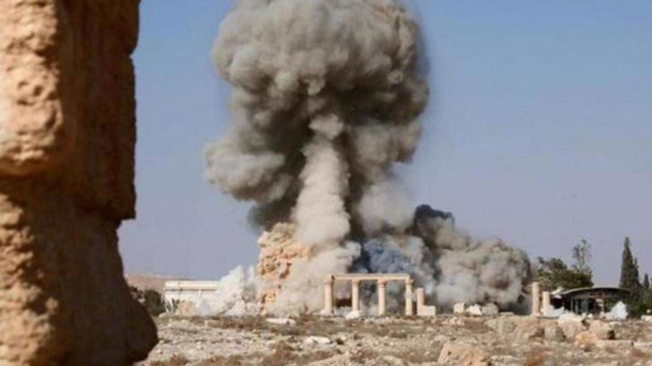 Templo Baal Palmira.