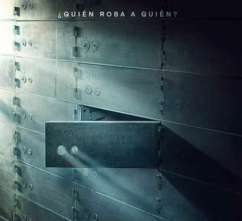 Cartel promocional de '100 años de perdón', de Daniel Calparsoro.