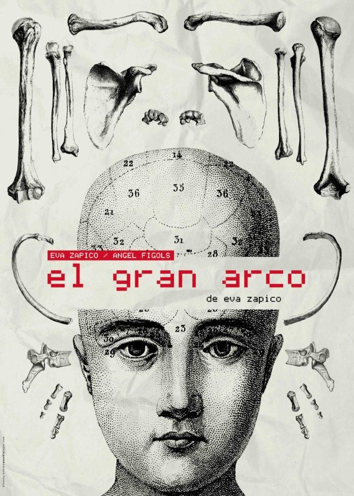Cartel de 'El gran Arco', de Eva Zapico. Imagen cortesía de Sala Ultramar.