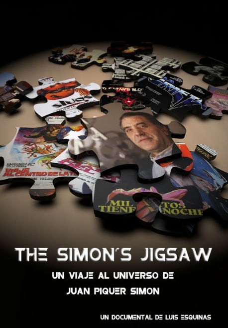 Cartel de 'The Simon's Jigsaw', de Luis Esquinas. Aragó Cinema.