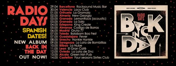 Cartel gira Radio Days