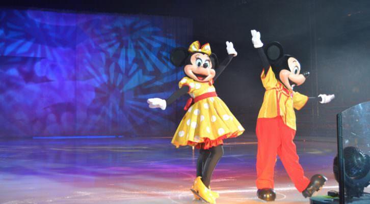 Disney on ice. Mundos encantados. Pabellón Fuente de San Luis. Fotografía: Lorena Riestra.