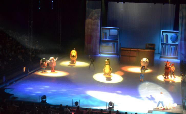 Disney on ice. Mundos encantados, Pabellón Fuente de San Luis. Fotografía: Lorena Riestra.