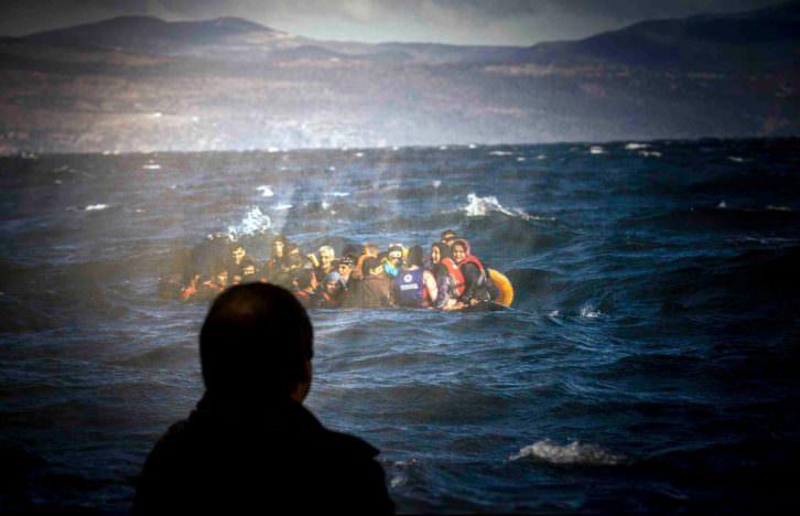 Fronteres d'Europa. Fotografía de Raquel Abulaila por cortesía del Museu Valencià d'Etnologia.