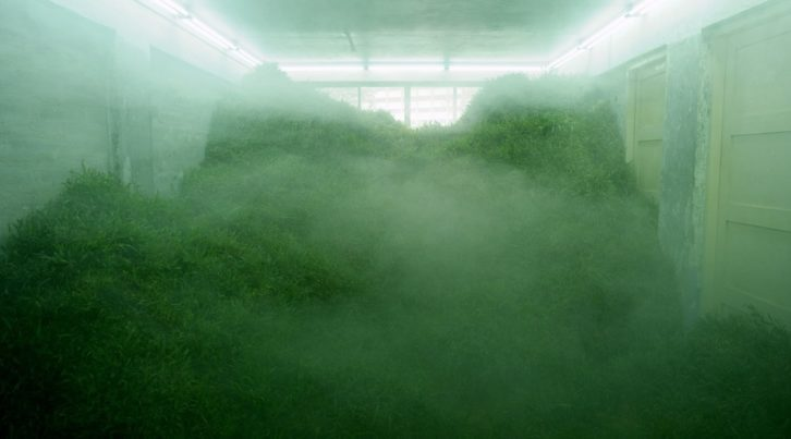 Imagen de la videocreación de Ho Tzu Nyen. Museo Guggenheim de Bilbao.