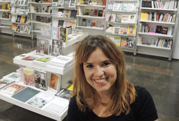 Inma Pérez, responsable de Librería Dadá, en InCultura Fest. Fotografía: José García Poveda.