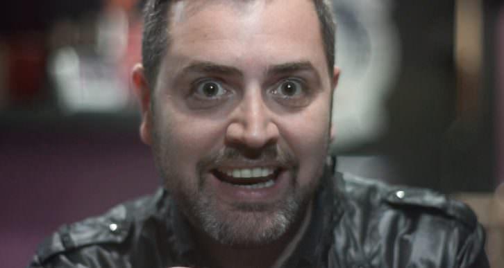 Jerónimo Cornelles en 'La más fuerte', de Bramant Teatre. Imagen del video de Escaparate Visual.