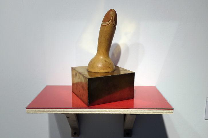 Una de las piezas de escultura de Liliana Maresca. Imagen cortesía de Espaivisor.
