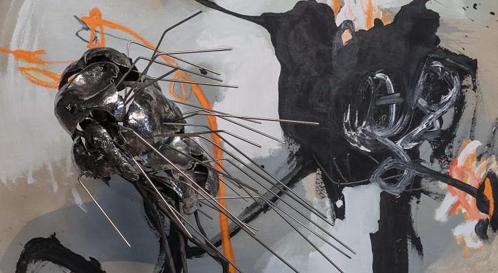 """Detalle de la exposición """"Secret Garden"""" 2016. Cortesía de la galería."""