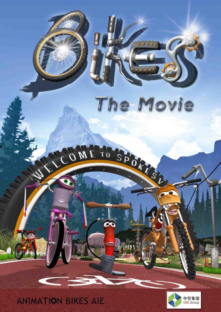 Portada de Bikes The Movie. Imagen cortesía de Trivisión.