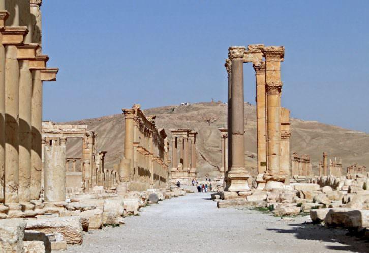 Palmira Decumanus.
