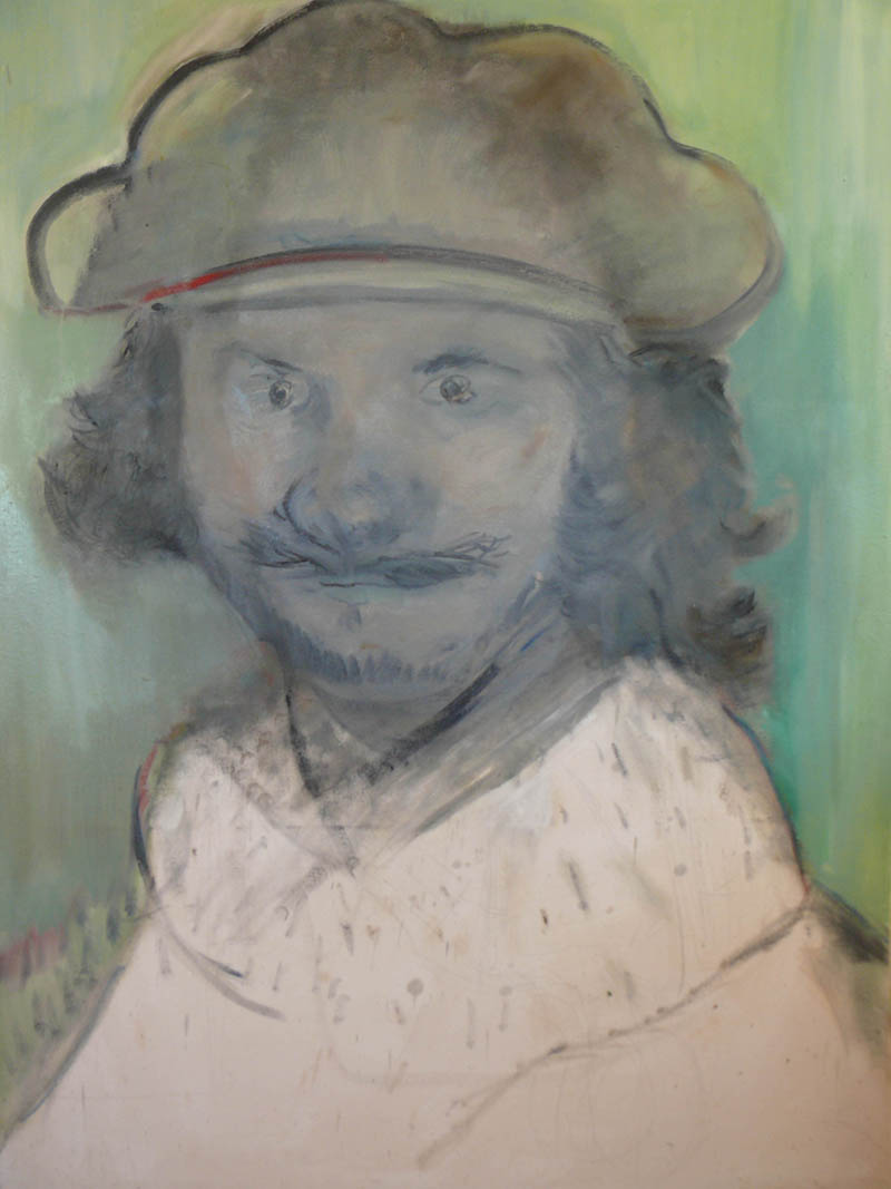 Rembrandt, por Blas Parra. Imagen cortesía del autor.