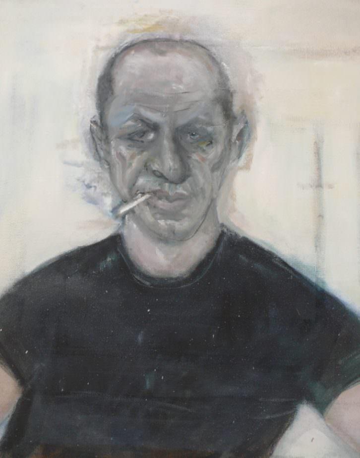 Jackson Pollock, por Blas Parra. Imagen cortesía del autor.