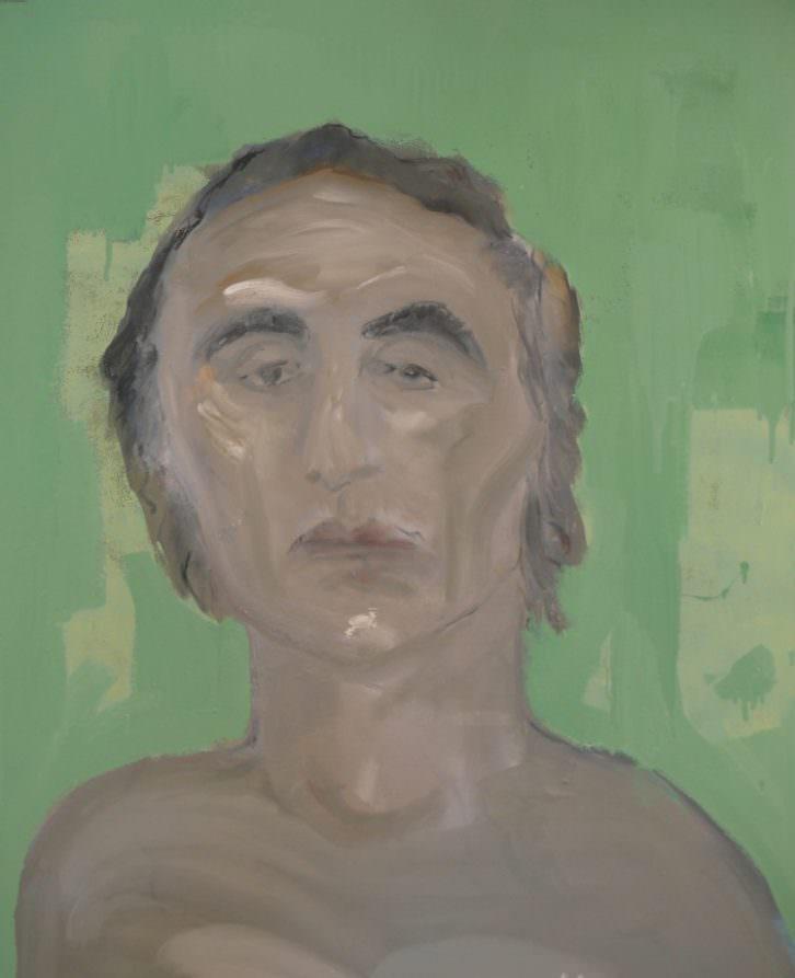 Retrato de Larry Rivers, por Blas Parra. Imagen cortesía del autor.