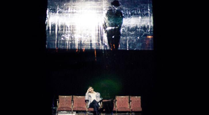 Escena de 'CINE', de La Tristura. Imagen cortesía de Las Naves.
