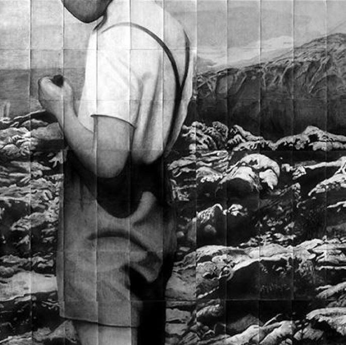Obra de Bojan Radojcic. Imagen cortesía de Galería pazYcomedias.