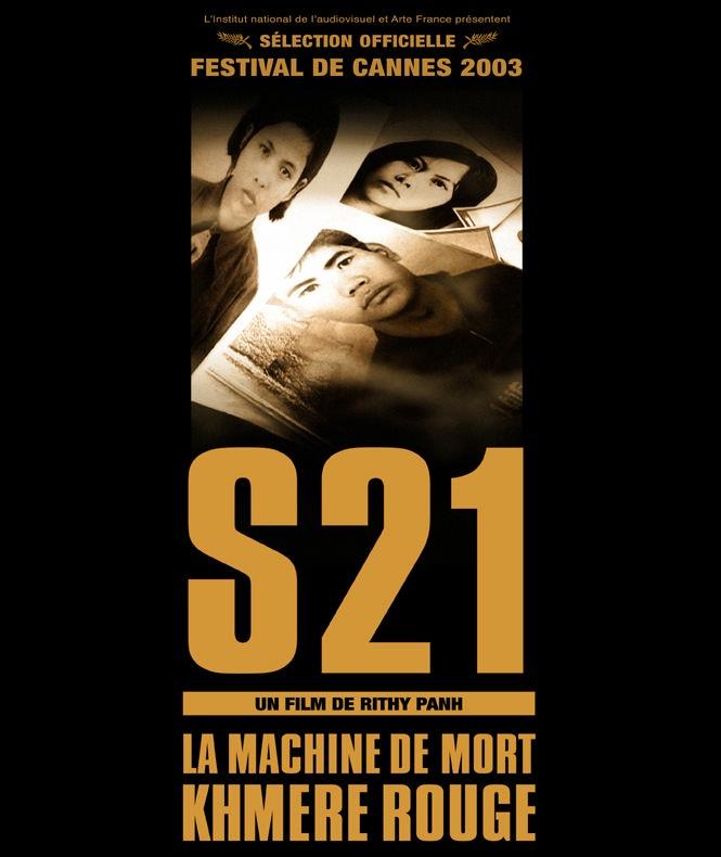 Cartel de la película 'S-21', de Rithy Panh. Imagen cortesía de Cinema Jove.