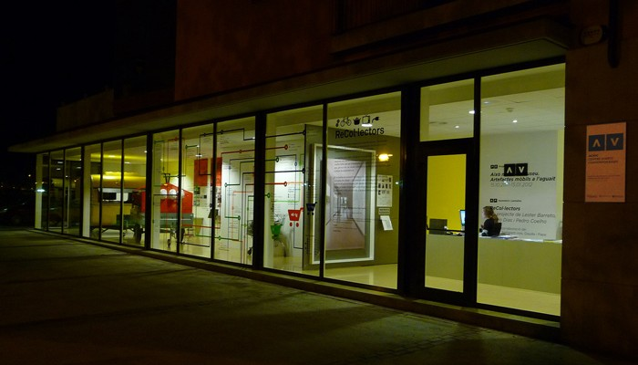 Exterior del ACVic Centre d'arts contemporànies. Cortesia del ACVic.