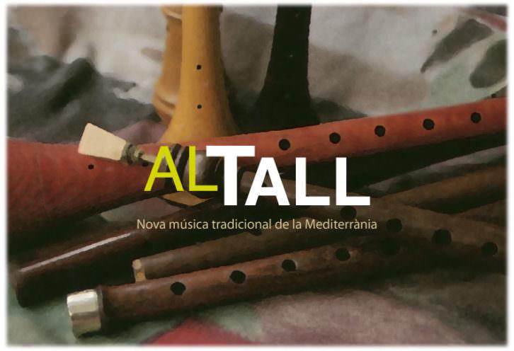 Imagen promocional del grupo Al Tall.