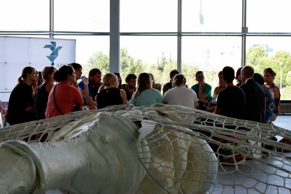 Un instante de una de las jornadas de S.A.CO 2015. Fotografía cortesía de los organizadores.