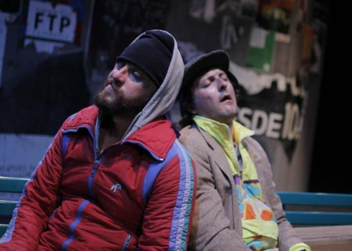 Escena de 'Desgraciados'. Imagen cortesía de Teatro Zircó.