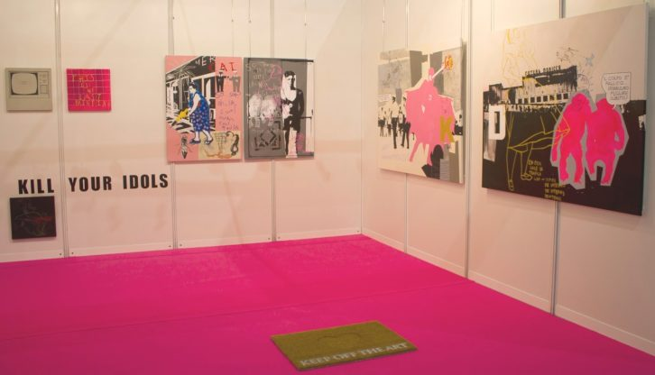 Obra de Pau Figueres en GetxoArte 2011.