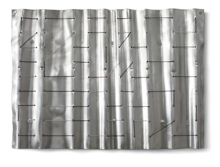 Imagen de una de las piezas  integrantes de 'Duplum', de Sebastián Nicolau. Fotografía cortesía de Shiras galería.