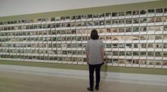 Obra de Mira Bernabeu en la exposición 'Perdidos en la ciudad' del IVAM.