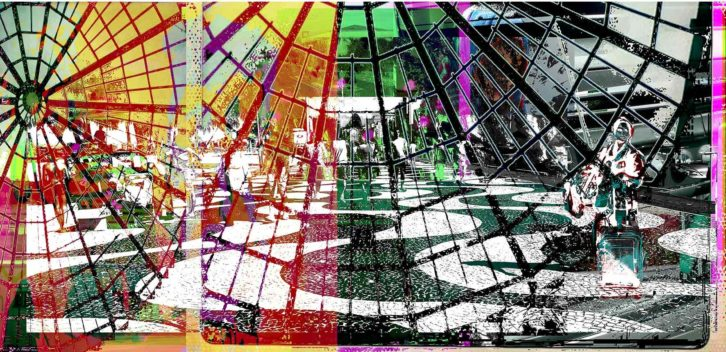 Obra de Bia Sasso. Imagen cortesía de Russafart.