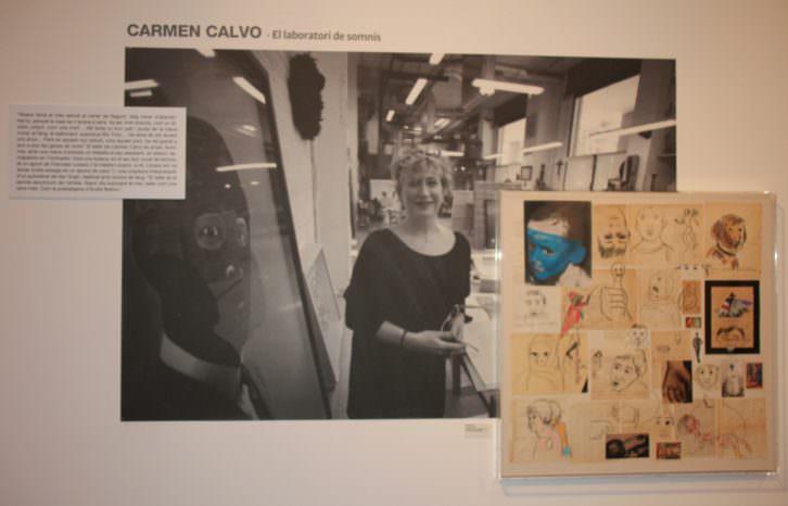 Estudis d'Art. Carmen Calvo. Imagen cortesía del EMAT.