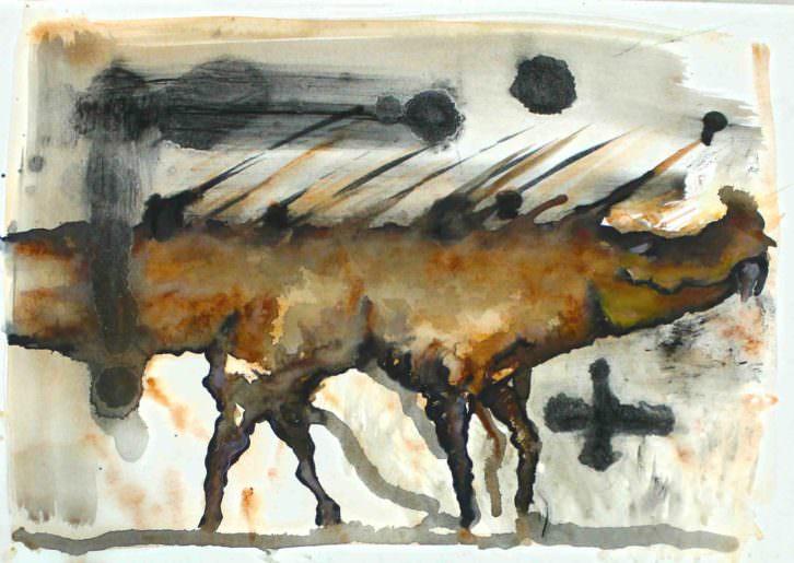 Obra de Juanjo Hernández. Casa de Cultura de El Campello. Imagen cortesía del autor.