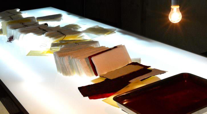 Imagen de la obra 'La última carta', de Luis Moscardó. Fotografía: Jose Ramón Alarcón.