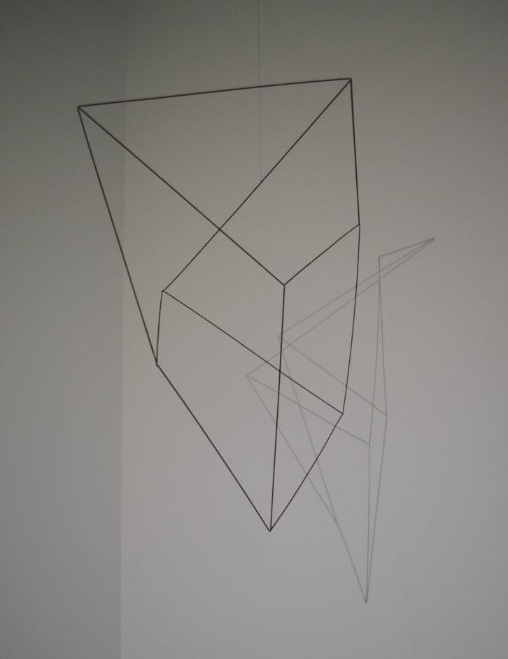 Una de las piezas de la exposición. Fotografía: María Ramis.