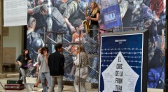 El circ de la frontera, de Escena Erasmus. Imagen cortesía de La Nau de la Universitat de València.