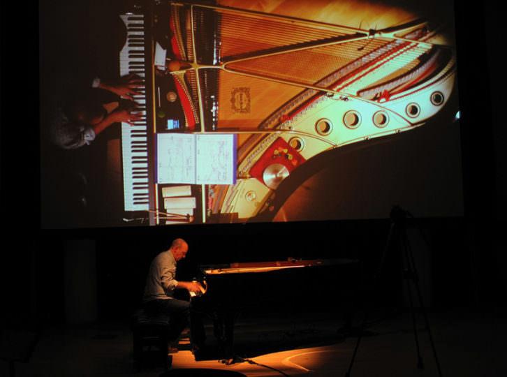 Agustí Fernández. Imagen cortesía del Palau de la Música de Valencia.
